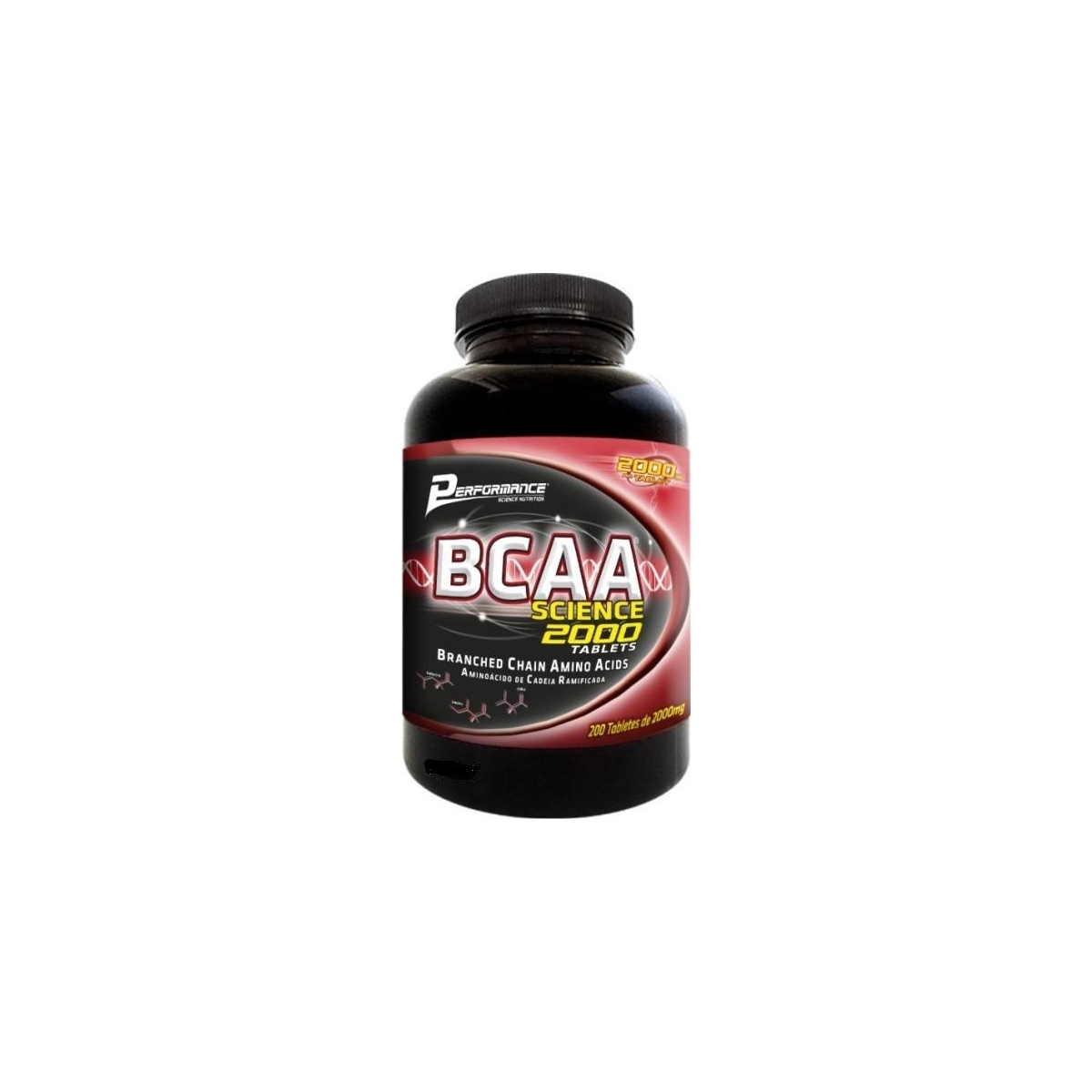 BCAA SCIENCE 2000MG (200 TABS) - PERFORMANCE NUTRITION