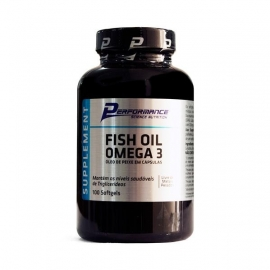 FISH OIL OMEGA 3 (100 SOFTGELS) - PERFORMANCE NUTRITION
