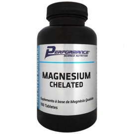 MAGNESIUM CHELATED (100 TABS) - PERFORMANCE NUTRITION