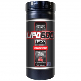 LIPO 600 BLACK ULTRA CONCENTRATE (120G) - MATRIX NUTRITION