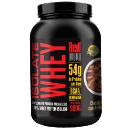 ISOLATE WHEY ZERO CARBO (900G) - RED SERIES