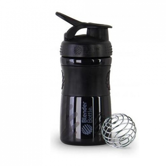 BLENDER BOTTLE SPORT MIXER PRETA (590ML) - BLENDER BOTTLE