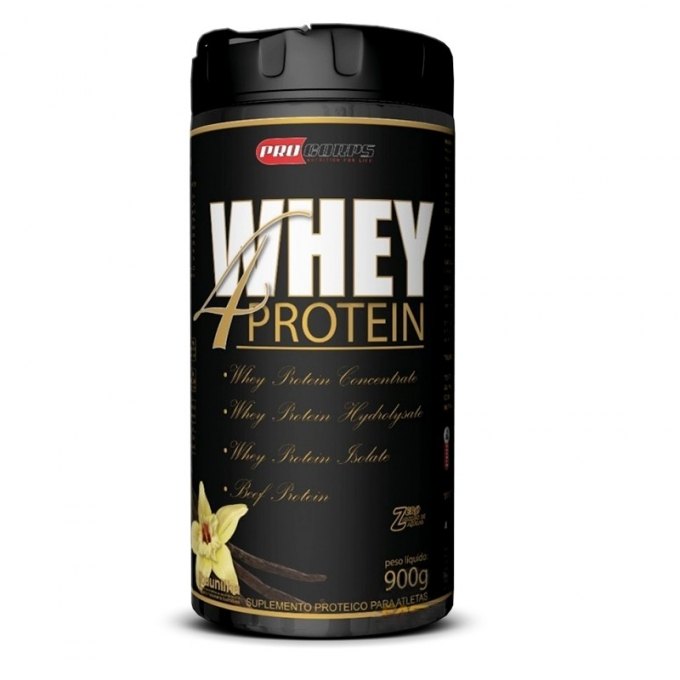 WHEY 4 PROTEIN (900G) - PRO CORPS