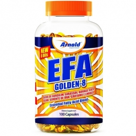 EFA GOLDEN - 8 ÓLEOS ESSENCIAIS (100 SOFTGELS) - ARNOLD NUTRITION