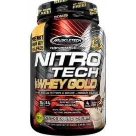 NITRO TECH 100% WHEY GOLD (999G) - MUSCLETECH