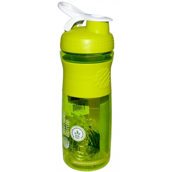 COQUETELEIRA BLENDER BOTTLE SPORT MIXER VERDE COM BRANCO