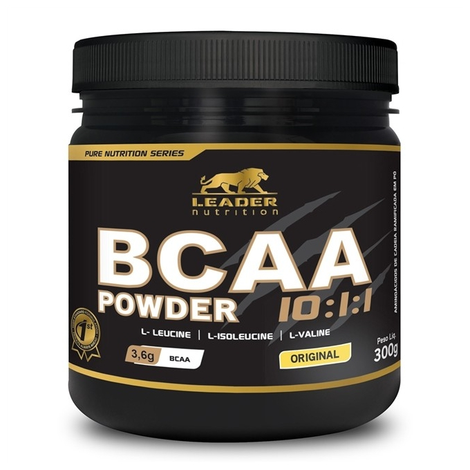 BCAA POWDER 10:1:1 (300G) - LEADER NUTRITION