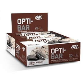 OPTI BAR CAIXA (12 UNIDADES) - OPTIMUM NUTRITION