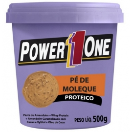 PÉ DE MOLEQUE PROTEICO (500G) - POWER ONE
