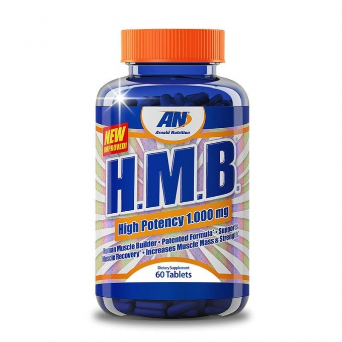 H.M.B - HUMAN MUSCLE BUILDER HIGH POTENCY 1000MG-  (60 CAPS) - ARNOLD NUTRITION