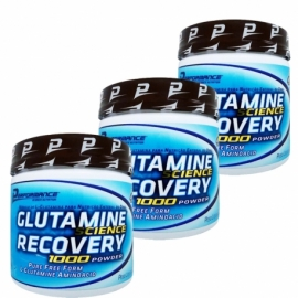 COMBO 3 GLUTAMINAS 300G (900G TOTAL) - PERFORMANCE NUTRITION