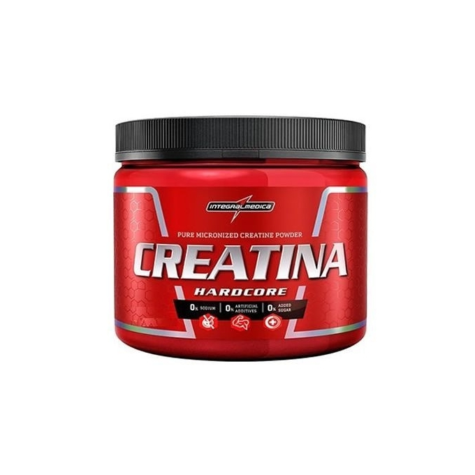 CREATINA HARDCORE (150G) - INTEGRAL MEDICA