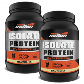 COMBO 2 ISOLATE PROTEIN ZERO CARBO 100% HIDROLISADA - NEW MILLEN