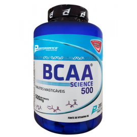 BCAA SCIENCE 500 MASTIGÁVEL (200 TABS) - PERFORMANCE NUTRITION