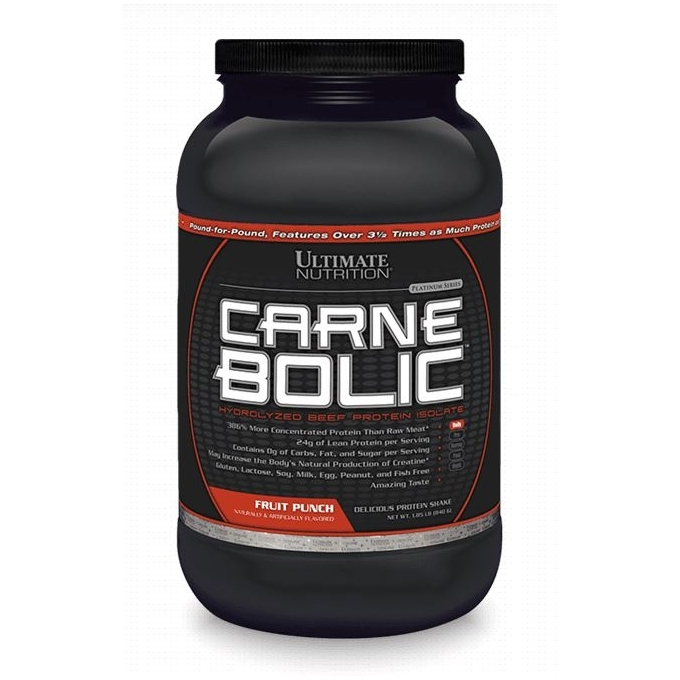 CARNEBOLIC HYDROLYZED BEEF PROTEIN ISOLATE (810G) - ULTIMATE NUTRITION