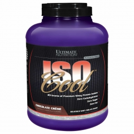ISOCOOL WHEY 100% ISOLADA (2,27KG) - ULTIMATE NUTRITION