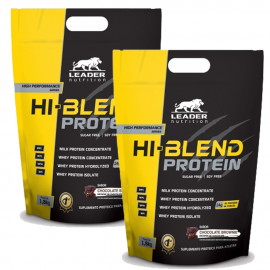 COMBO 2 HI-BLEND PROTEIN (3,6 KG TOTAL) - LEADER NUTRITION