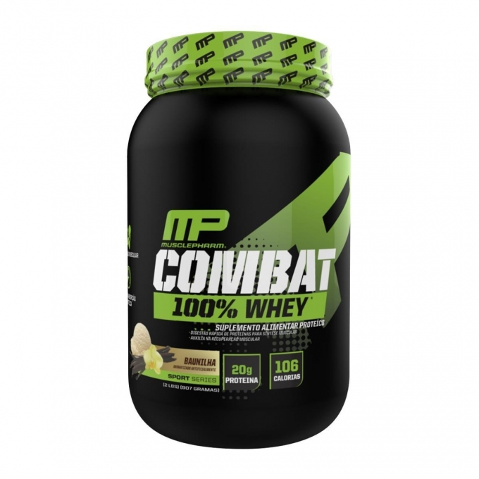 ddf1c956a COMBAT 100% WHEY (900G) - MUSCLE PHARM