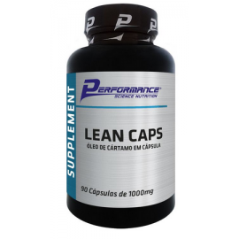 LEAN CAPS ÓLEO DE CÁRTAMO (90 SOFTGELS) - PERFORMANCE NUTRITION