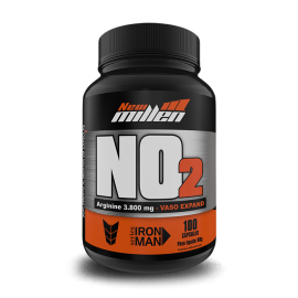 NO2 ARGININE VASO EXPAND (100 CAPS) - NEW MILLEN