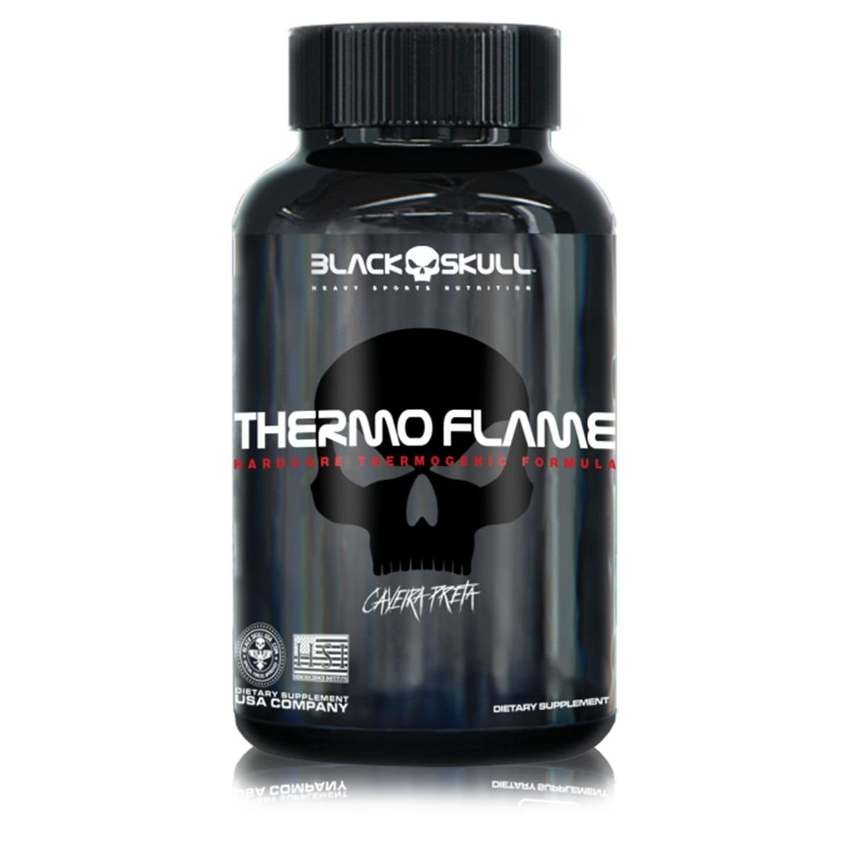 THERMO FLAME (60 TABS) - BLACK SKULL
