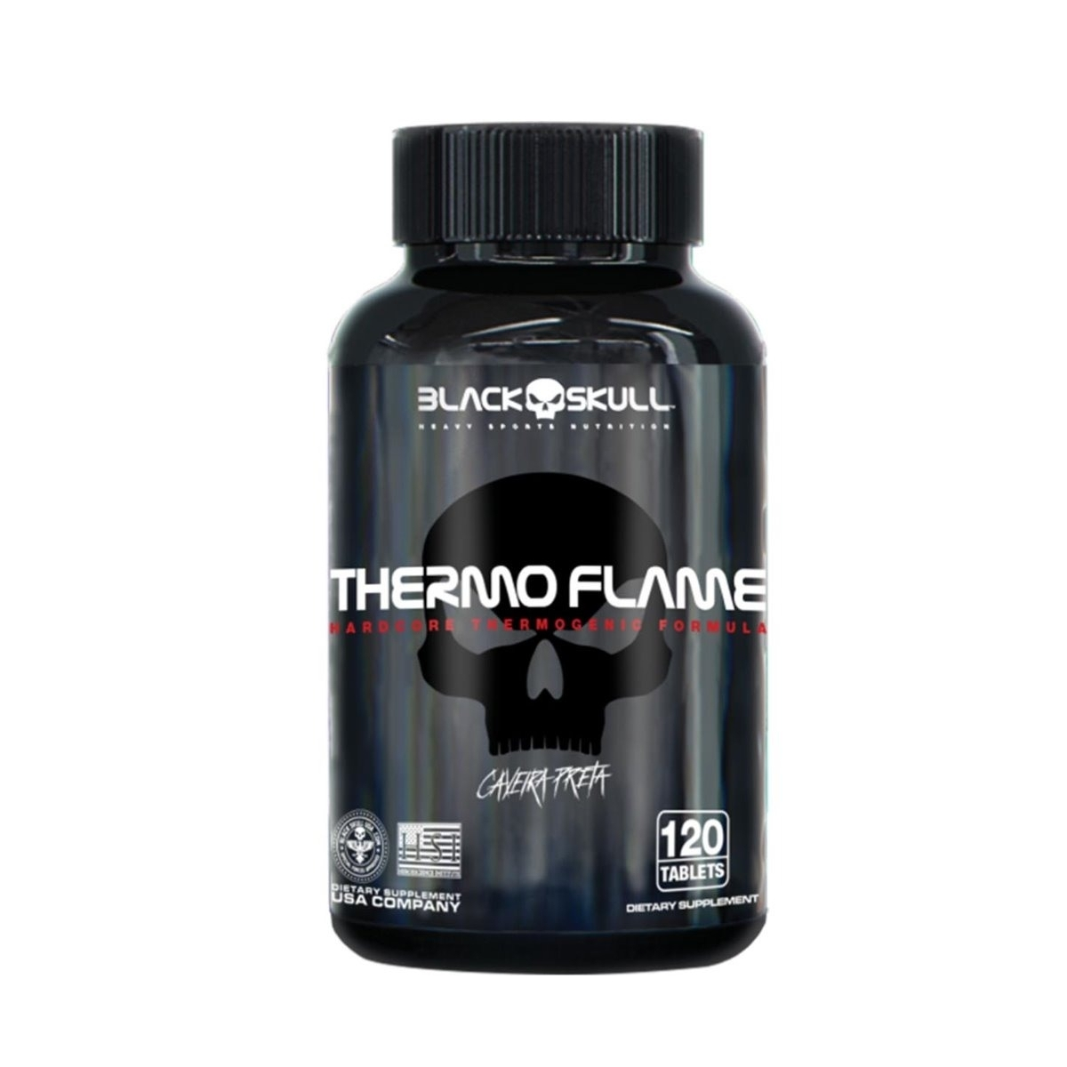 THERMO FLAME (120 TABS) - BLACK SKULL