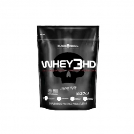 WHEY 3HD REFIL (837G) - BLACK SKULL