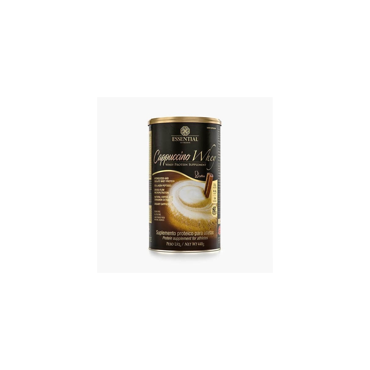 CAPPUCCINO WHEY(448G) - ESSENTIAL NUTRITION