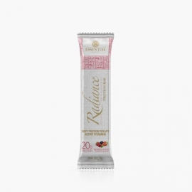 RADIANCE PROTEIN BAR FRUTAS VERMELHAS COM CHOCOLATE BRANCO (1 BARRA) - ESSENTIAL NUTRITION