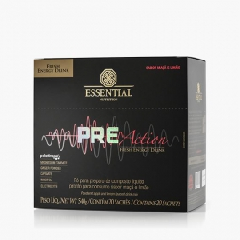 PRÉ ACTION 540G (20 SACHÊS) - ESSENTIAL NUTRITION