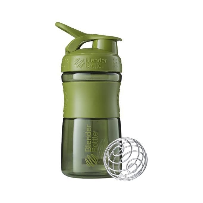 BLENDER BOTTLE SPORT MIXER VERDE MILITAR (590ML) - BLENDER BOTTLE