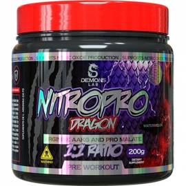 NITROPRO DRAGON ARGININE AAKG AND PRO MALATE (200G) - DEMONS LAB