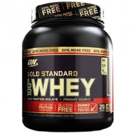 GOLD STANDARD 100% WHEY 20% MORE FREE (1,09KG) - OPTIMUM NUTRITION