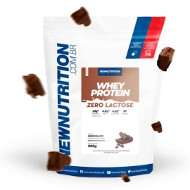 WHEY PROTEIN ZERO LACTOSE (900G) - NEW NUTRITION