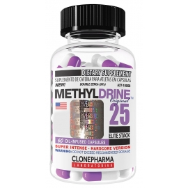 METHYLDRINE 25 ELITE STACK (60 CAPS) - CLONEPHARMA
