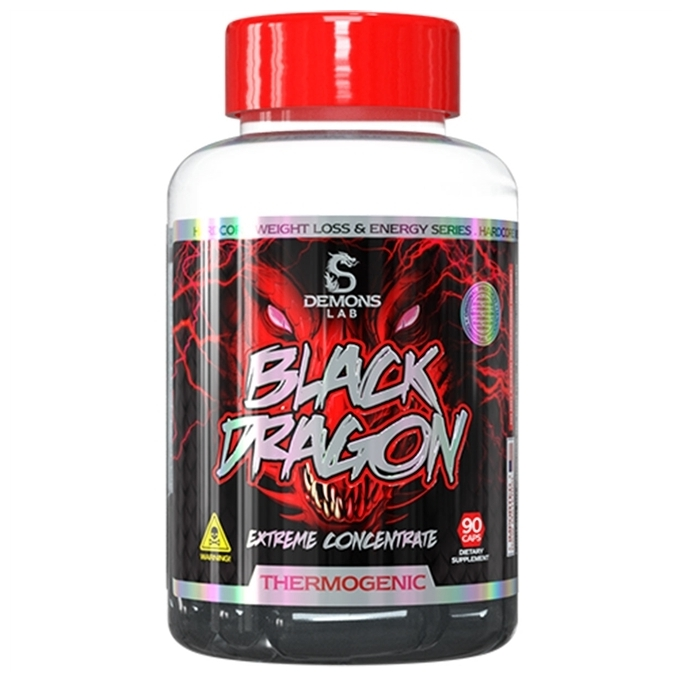 BLACK DRAGON (90 CAPS) - DEMONS LAB