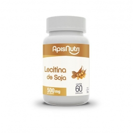 LECITINA DE SOJA 500MG (60 CAPS) - APIS NUTRI