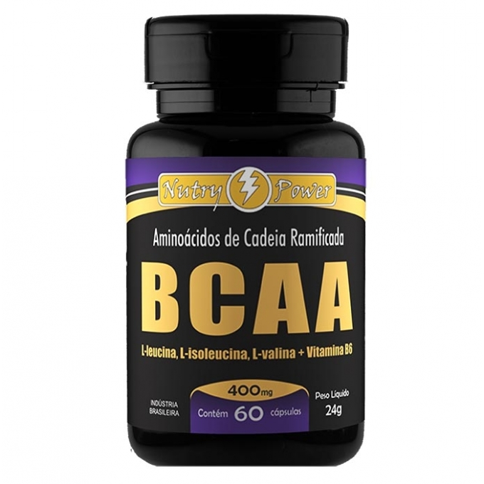 BCAA 400MG (60 CAPS) - APIS NUTRI