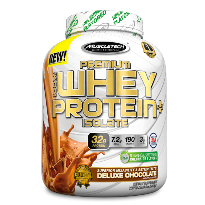 PREMIUM 100% WHEY PROTEIN ISOLATE (1,36KG) - MUSCLETECH