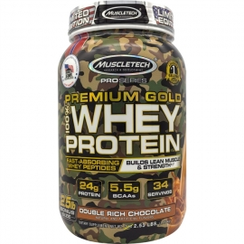 PREMIUM GOLD 100% WHEY PROTEIN (1,15KG) - MUSCLETECH
