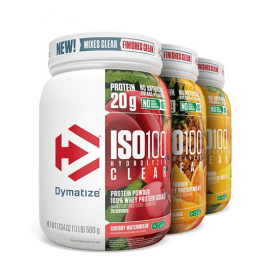 ISO-100 HYDROLYZED CLEAR (500G) - DYMATIZE