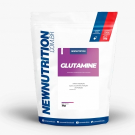 GLUTAMINE 200 PORÇÕES (1KG) - NEW NUTRITION