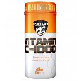 VITAMINA C 1000MG (100 CAPS) - UNDER LABZ