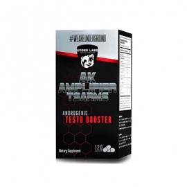 AK AMPLIFIER T-SARMS ANDROGENIC TESTO BOOSTER (120 CAPS) - UNDER LABZ