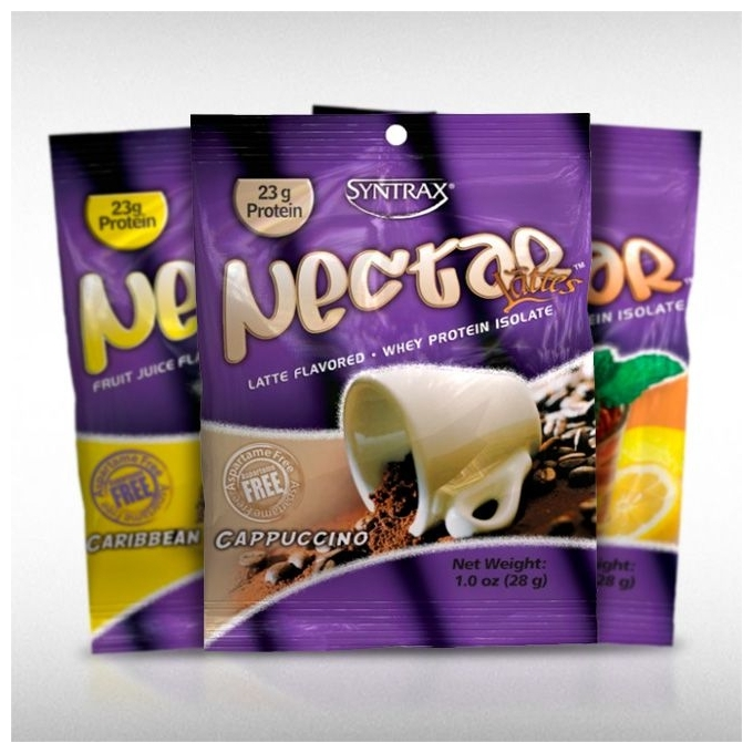 GRAB N  GO UNID NECTAR WHEY PROTEIN ISOLATE (1 PACKET) - SYNTRAX