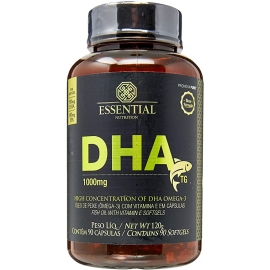 DHA TG ÔMEGA 3 ULTRA CONCENTRADO EM DHA 1000MG  (90 CAPS) - ESSENTIAL NUTRITION