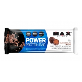 POWER PROTEIN BAR (1 UNIDADE DE 90G) - MAX TITANIUM