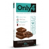 BARRA CHOCOLATE ONLY4 NIBS (80G) - ONLY4