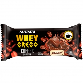 WHEY GREGO BAR COFFEE CREAM (1 UNIDADE) - NUTRATA
