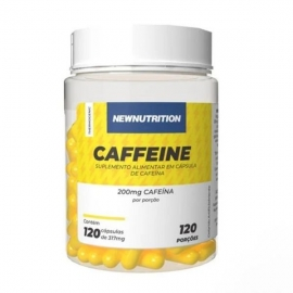 CAFFEINE 200MG (120 CAPS) - NEW NUTRITION